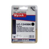 Картридж для brother mfc-j6510/6710/6910 (lc1240bk) black (16,6ml, pigment) myink